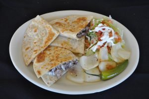 quesadillas con frejol